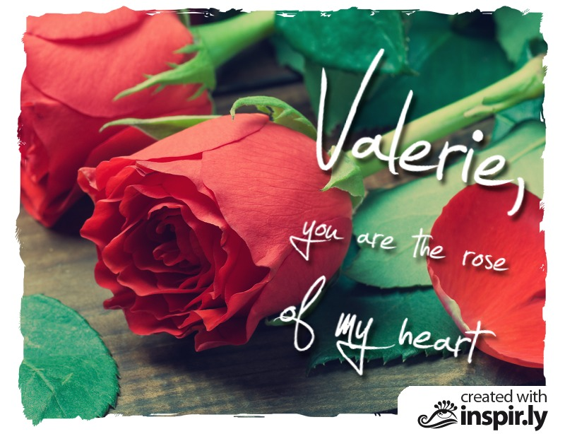 Valentine's Day-You are the Rose of my Heart